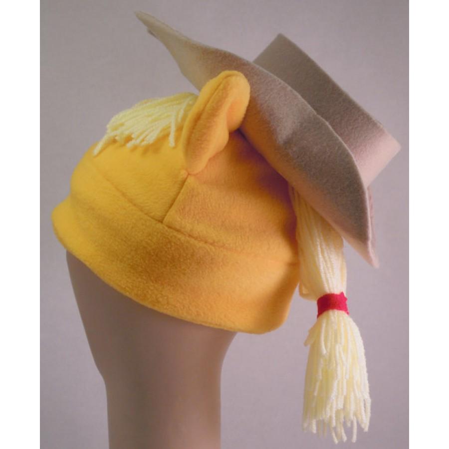 Applejack  with her Hat Inspired Fleece Pony Hat My Little Pony MLP