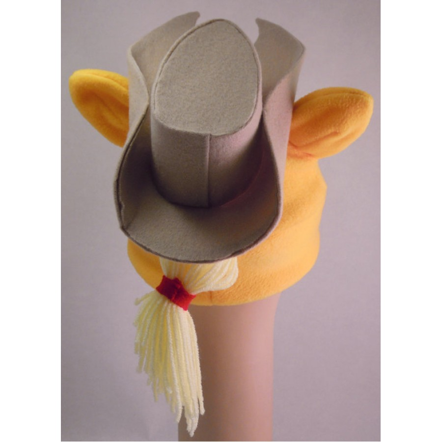 Applejack  with her Hat Inspired Fleece Pony Hat My Little Pony MLP