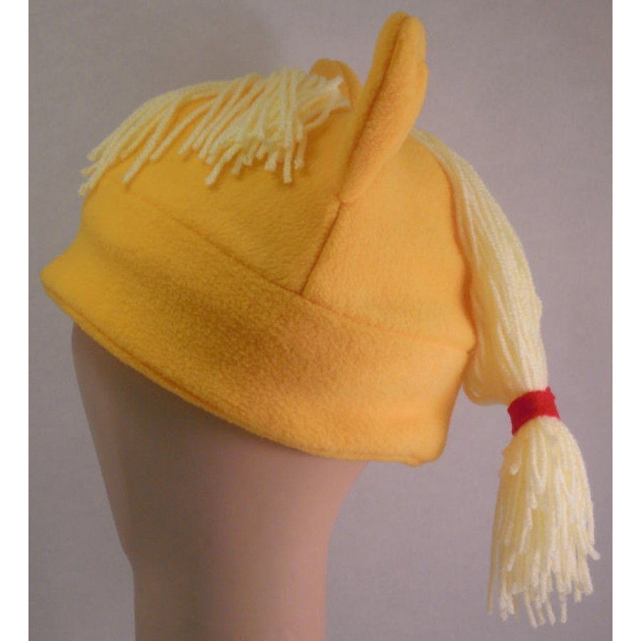 Applejack Inspired Fleece Pony Hat My Little Pony MLP
