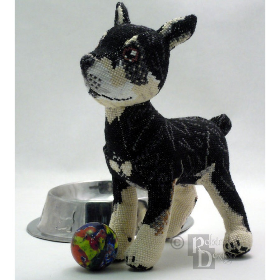 Custom Dog Doll 3D Cross Stitch Animal Sewing Pattern from Your Photos PDF
