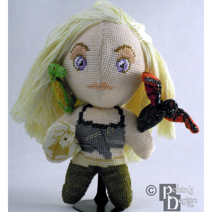 Daenerys Doll 3D Cross Stitch Sewing Pattern PDF