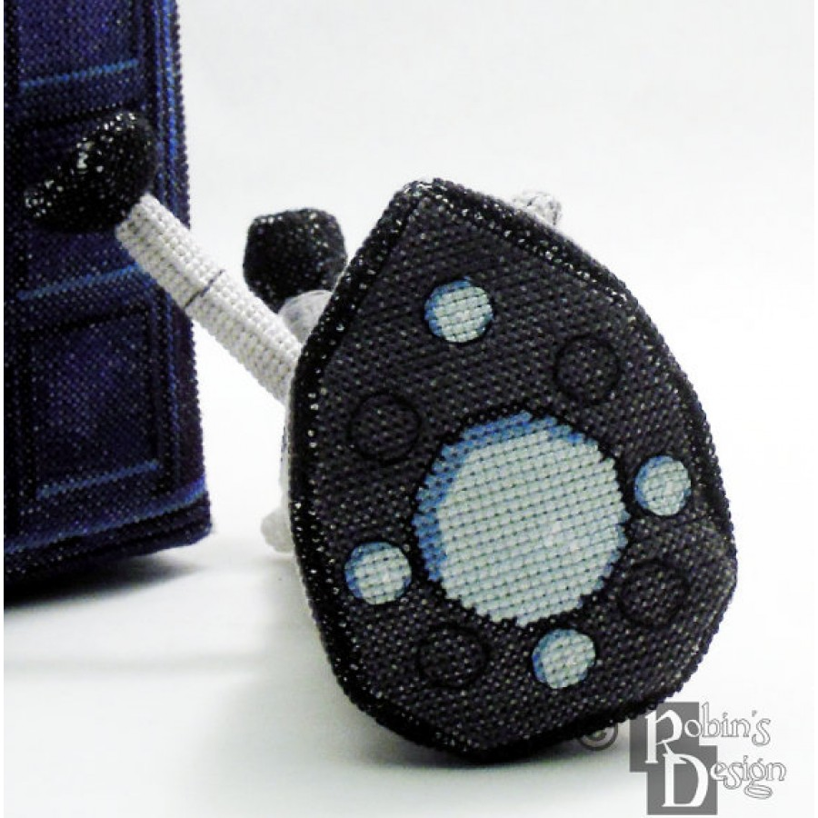 Dalek Doll 3D Cross Stitch Sewing Pattern PDF