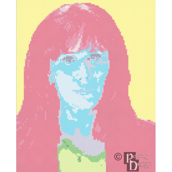 Donna Noble Cross Stitch Pattern PDF