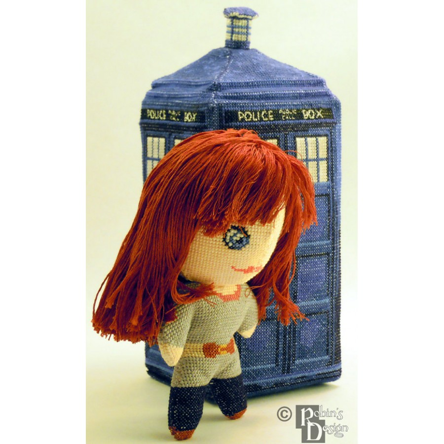 Donna Noble Doll 3D Cross Stitch Sewing Pattern PDF