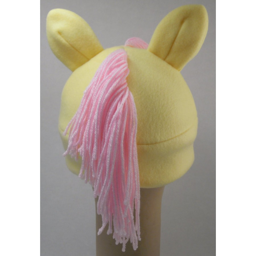 Fluttershy Inspired Fleece Pony Hat My Little Pony MLP
