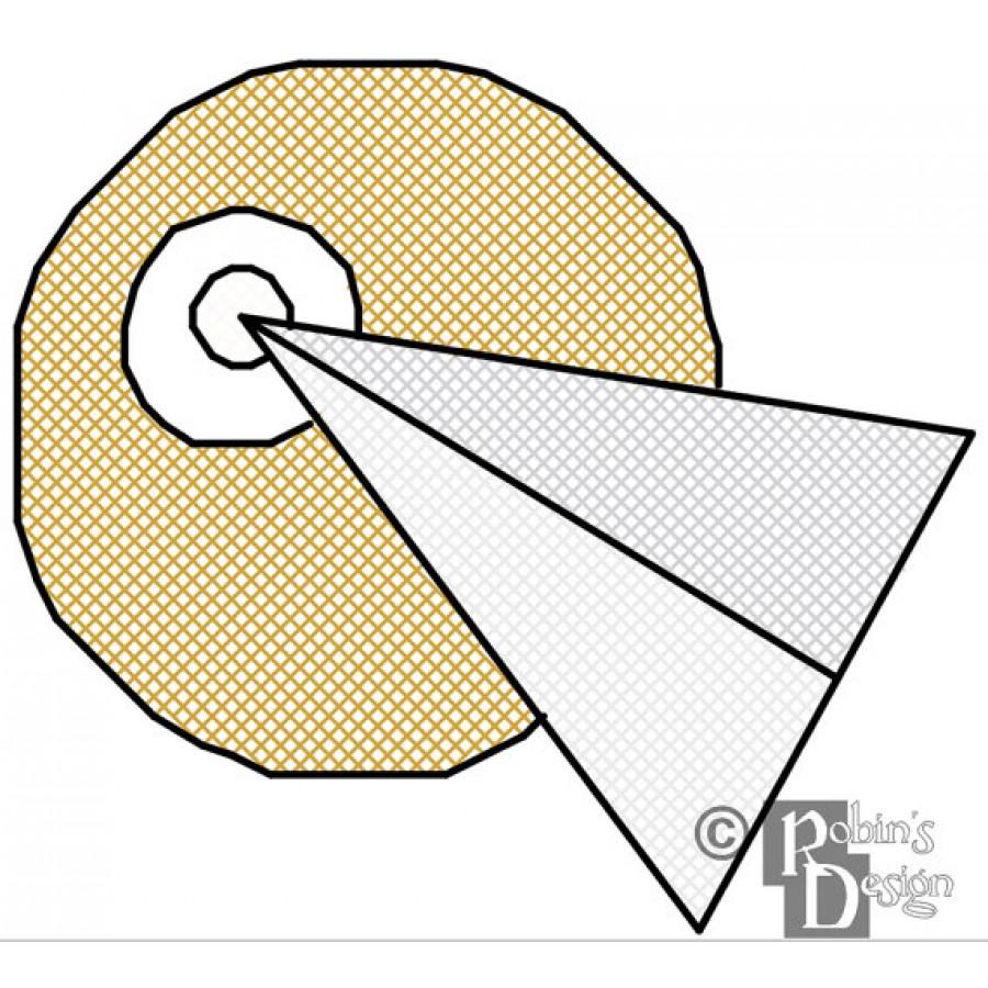 Infinite Diversity Infinite Combinations Insignia Patch Cross Stitch Pattern PDF