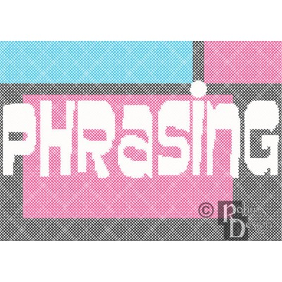 Phrasing Cross Stitch Pattern PDF