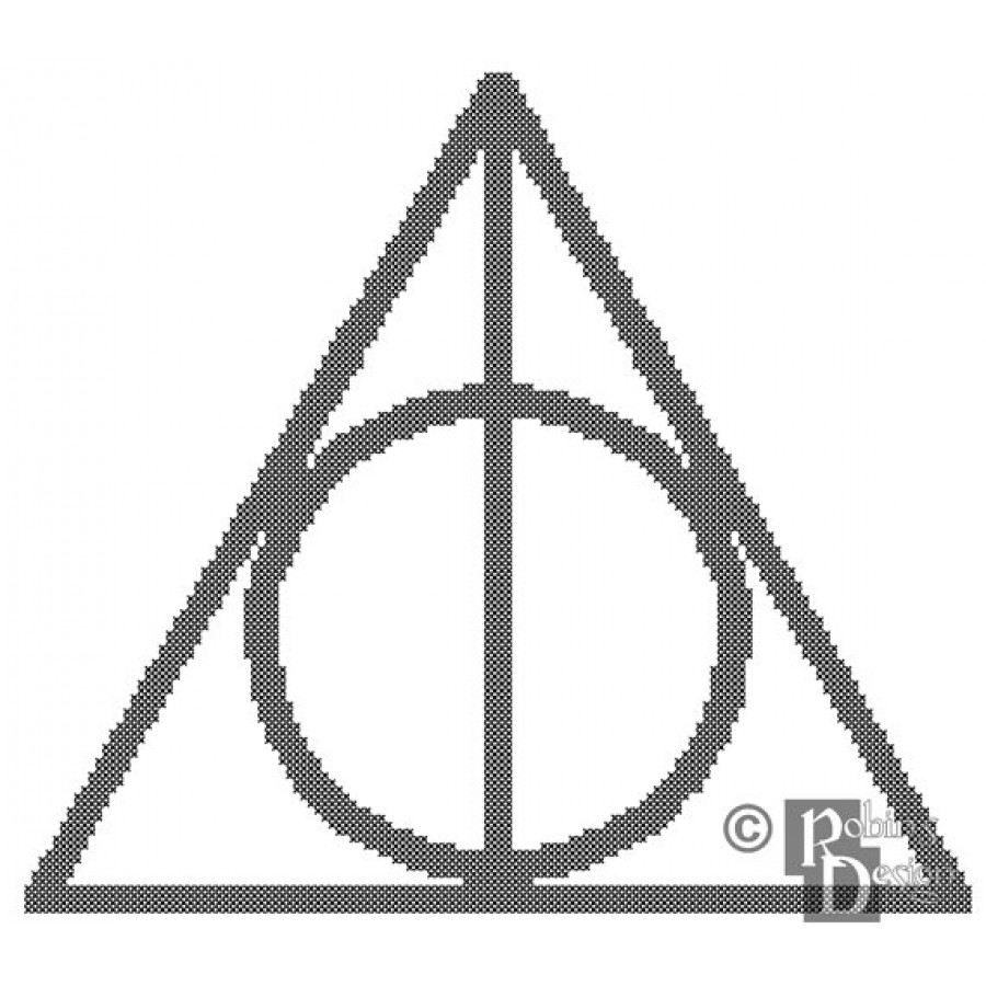 Deathly hallows symbol cross stitch pattern pdf the deathly hallows symbol cross stitch pattern pdf buycottarizona