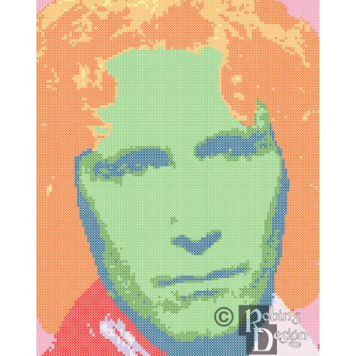 The Eighth Doctor Cross Stitch Pattern PDF
