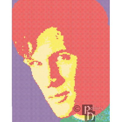 The Eleventh Doctor Cross Stitch Pattern PDF