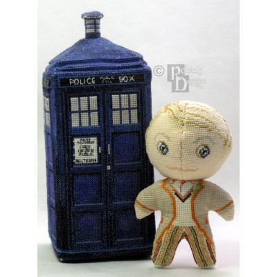 The Fifth Doctor Doll 3D Cross Stitch Sewing Pattern PDF