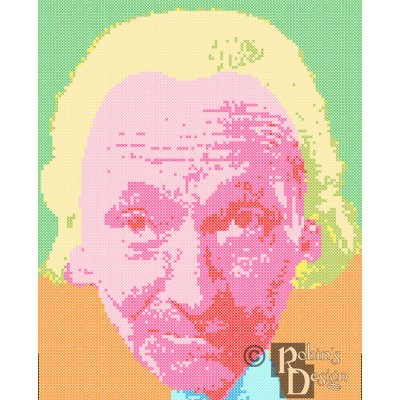 The First Doctor Cross Stitch Pattern PDF