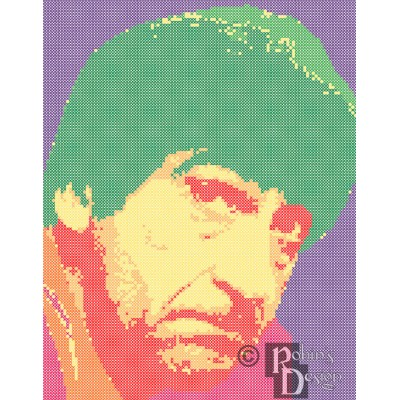 The Second Doctor Cross Stitch Pattern PDF