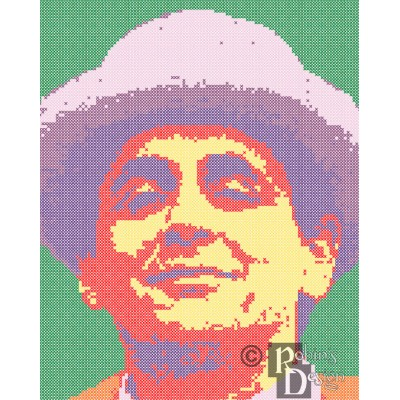 The Seventh Doctor Cross Stitch Pattern PDF