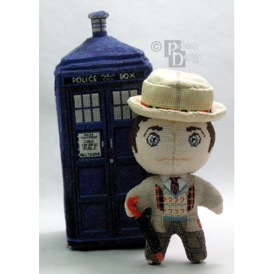 The Seventh Doctor Doll 3D Cross Stitch Sewing Pattern PDF