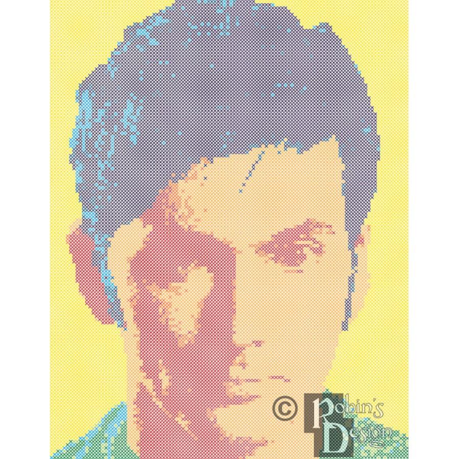 The Tenth Doctor Cross Stitch Pattern PDF