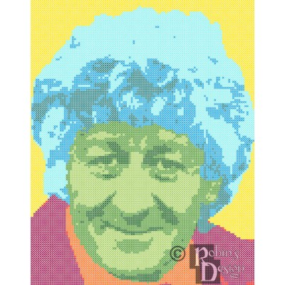 The Third Doctor Cross Stitch Pattern PDF