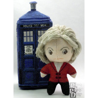 The Third Doctor Doll 3D Cross Stitch Sewing Pattern PDF