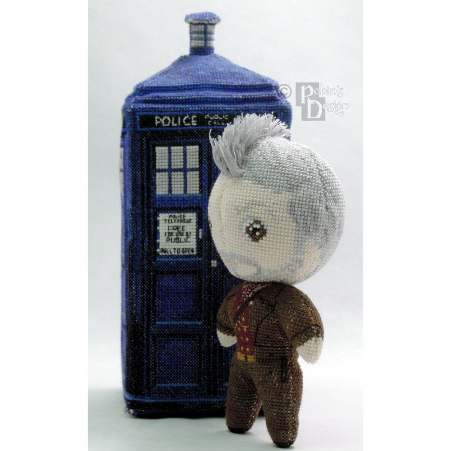 The War Doctor Doll 3D Cross Stitch Sewing Pattern PDF Download