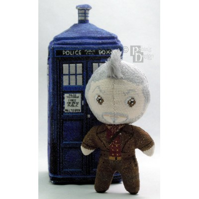 The War Doctor Doll 3D Cross Stitch Sewing Pattern PDF