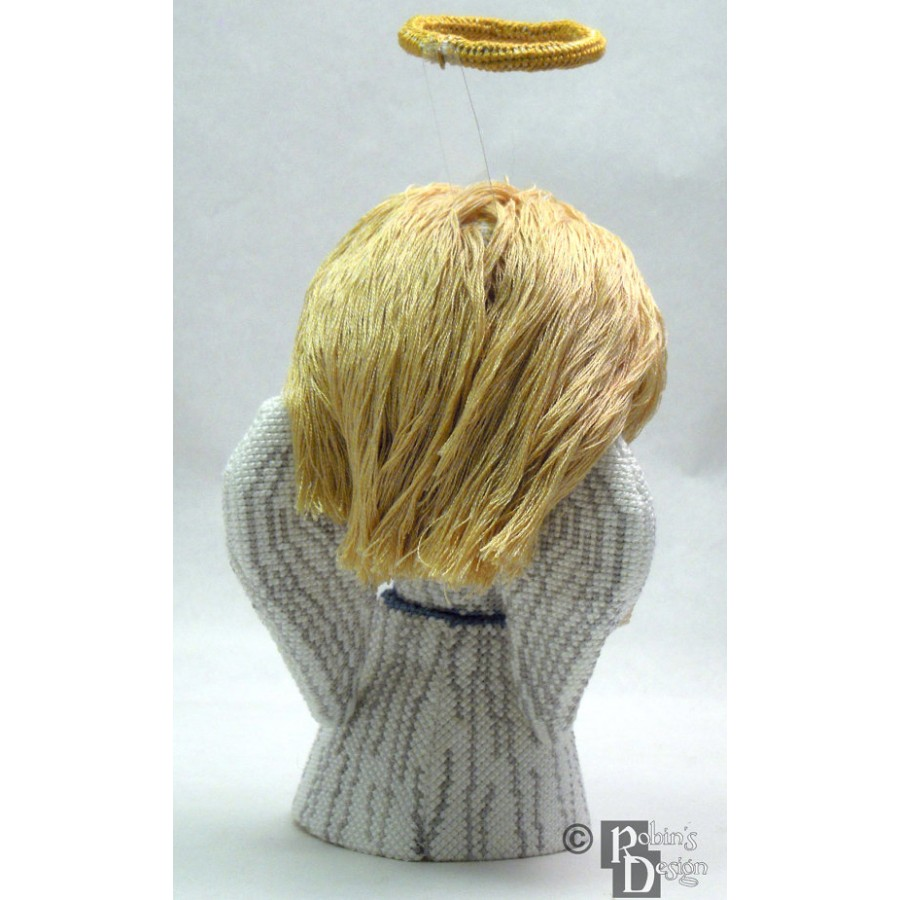 Traditional Angel Doll/Tree Topper 3D Cross Stitch Sewing Pattern PDF