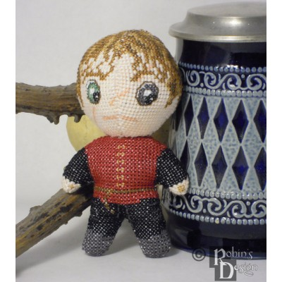Tyrion Doll 3D Cross Stitch Sewing Pattern PDF