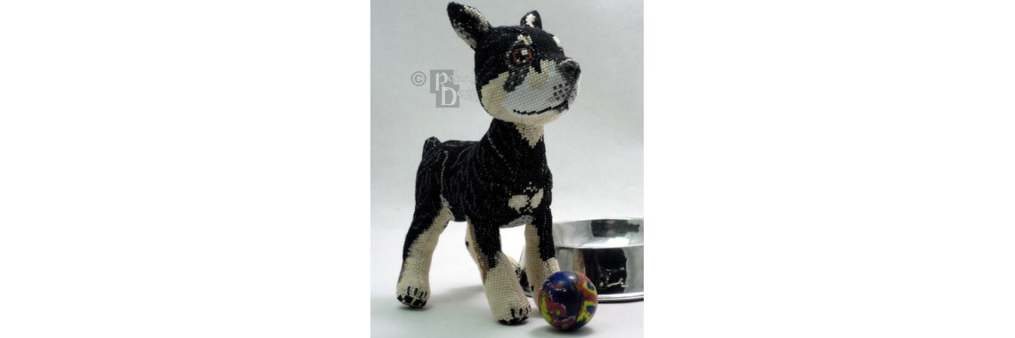 Custom Dog Cross Stitch Doll Pattern