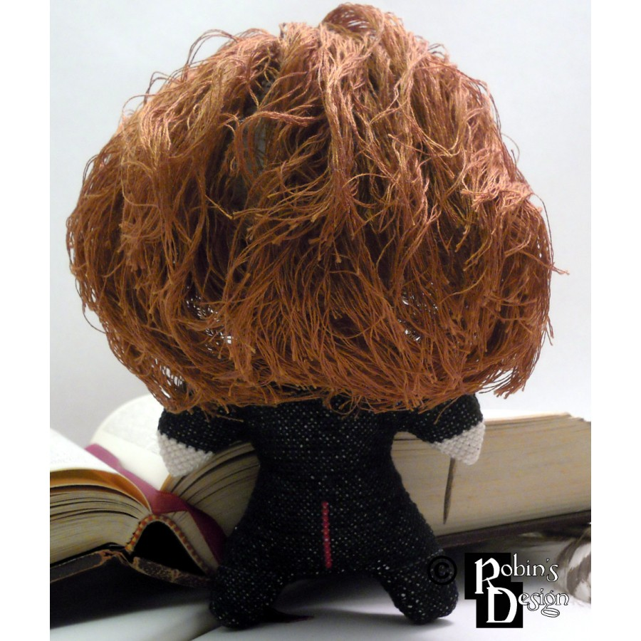 Hermione Granger Doll 3D Cross Stitch Sewing Pattern PDF