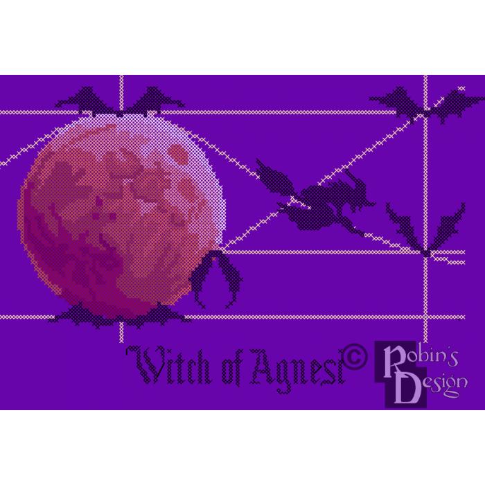 Witch of Agnesi Cross Stitch Pattern PDF