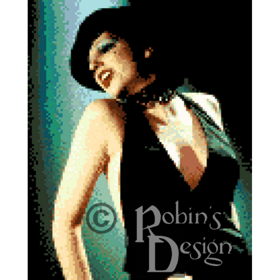 Liza Minnelli Cabaret Cross Stitch Pattern PDF
