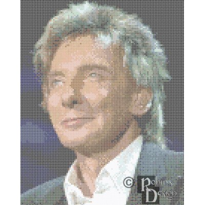 Barry Manilow Cross Stitch Pattern PDF Download