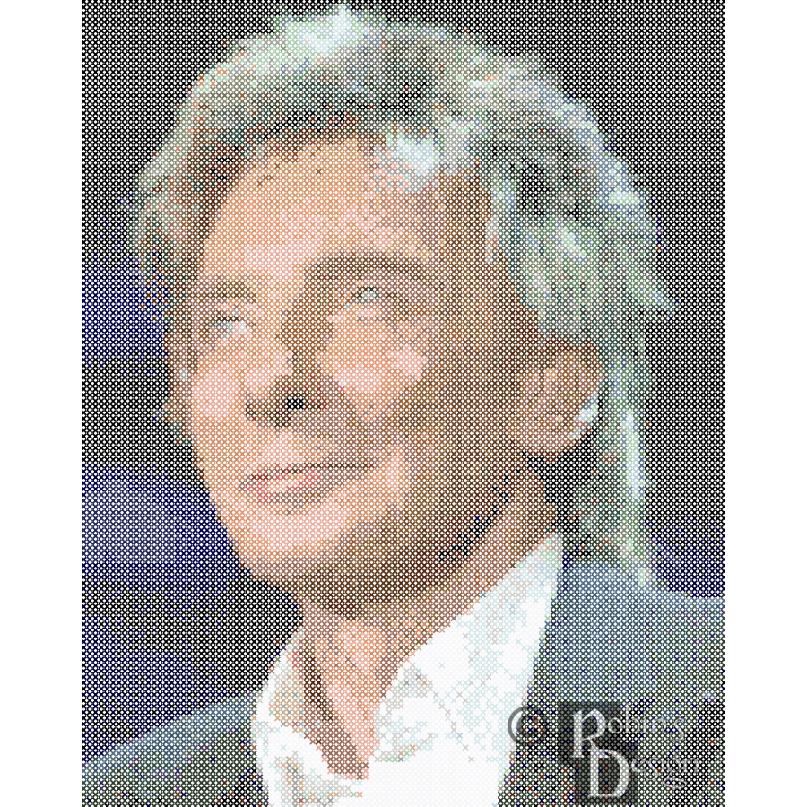 Barry Manilow Cross Stitch Pattern PDF