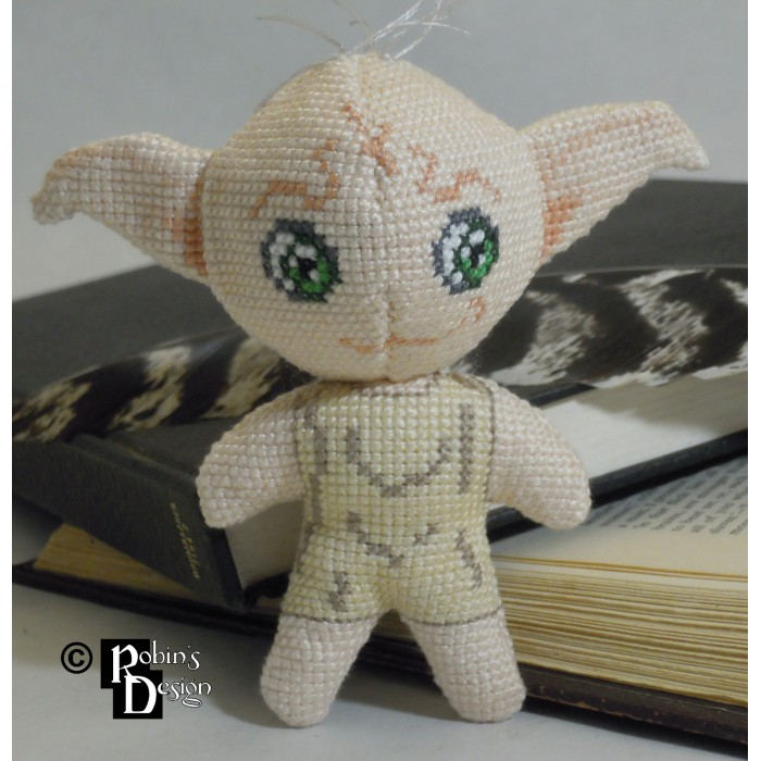 Dobby the House Elf Doll 3D Cross Stitch Sewing Pattern PDF
