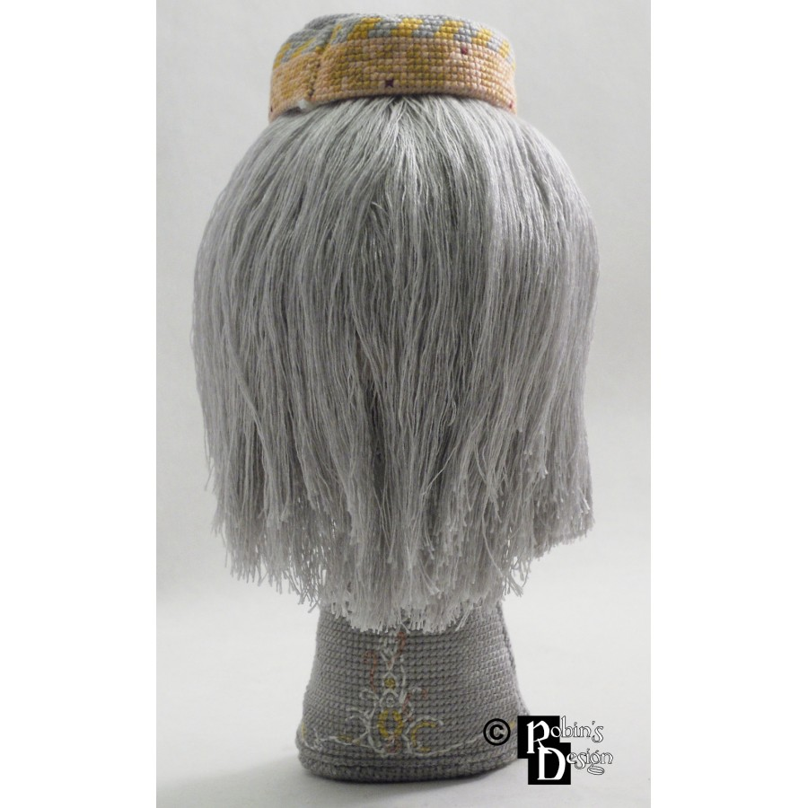 Albus Dumbledore Doll 3D Cross Stitch Sewing Pattern PDF Download