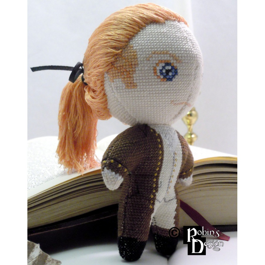 Alexander Hamilton Doll 3D Cross Stitch Sewing Pattern PDF