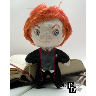 Ron Weasley Doll 3D Cross Stitch Sewing Pattern PDF