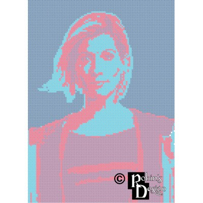 The Thirteenth Doctor Cross Stitch Pattern PDF