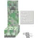 Minecraft Creeper Don't Fear the Creeper Cross Stitch Pattern PDF Download