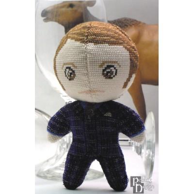 Hannibal Doll 3D Cross Stitch Sewing Pattern PDF Download