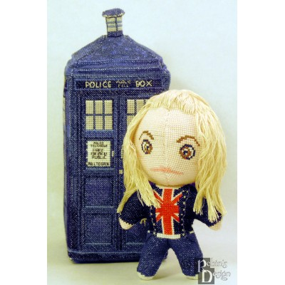 Rose Tyler Doll 3D Cross Stitch Sewing Pattern PDF Download