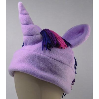 Twilight Sparkle Inspired Fleece Pony Hat My Little Pony MLP