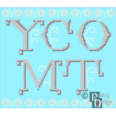 YCOMT Cross Stitch Pattern PDF Download