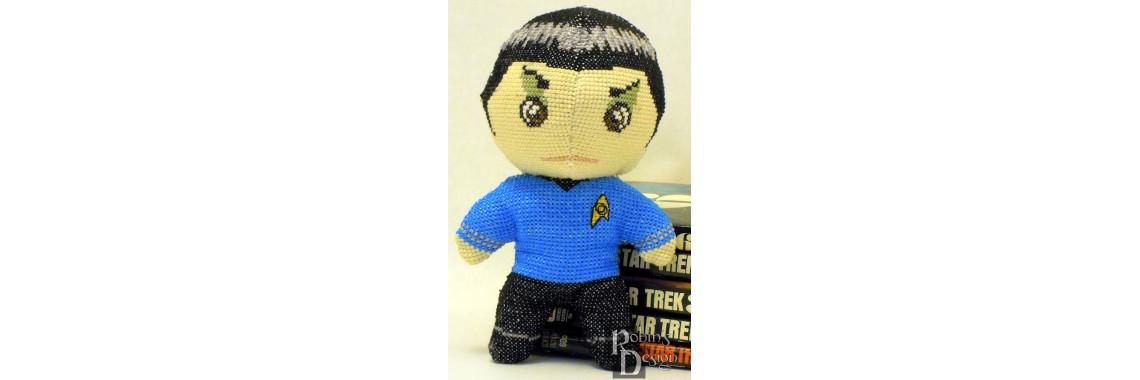 Mr. Spock Cross Stitch Doll Pattern