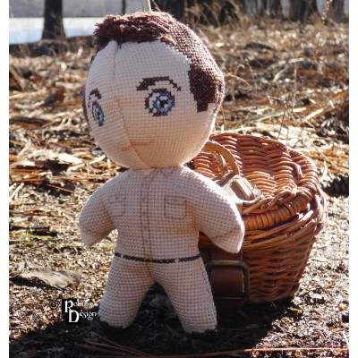 Sheriff Andy Taylor Doll 3D Cross Stitch Sewing Pattern PDF Download