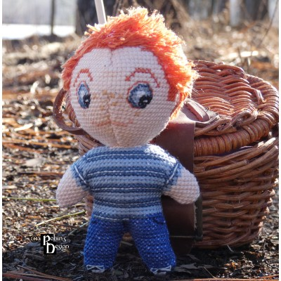 Opie Taylor Doll 3D Cross Stitch Sewing Pattern PDF Download