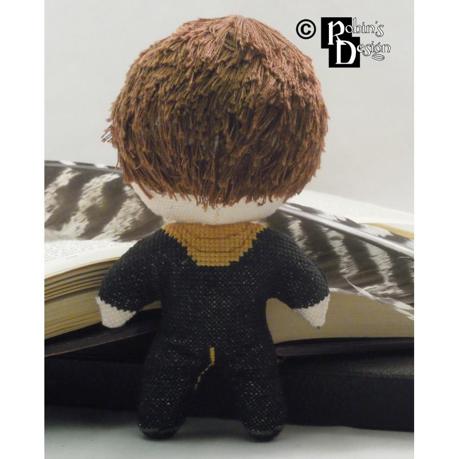 Cedric Diggory Doll 3D Cross Stitch Sewing Pattern PDF Download