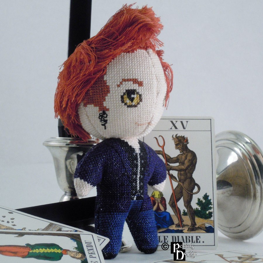 Crowley Doll 3D Cross Stitch Sewing Pattern PDF Download