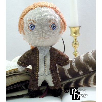 Alexander Hamilton Doll 3D Cross Stitch Sewing Pattern PDF Download