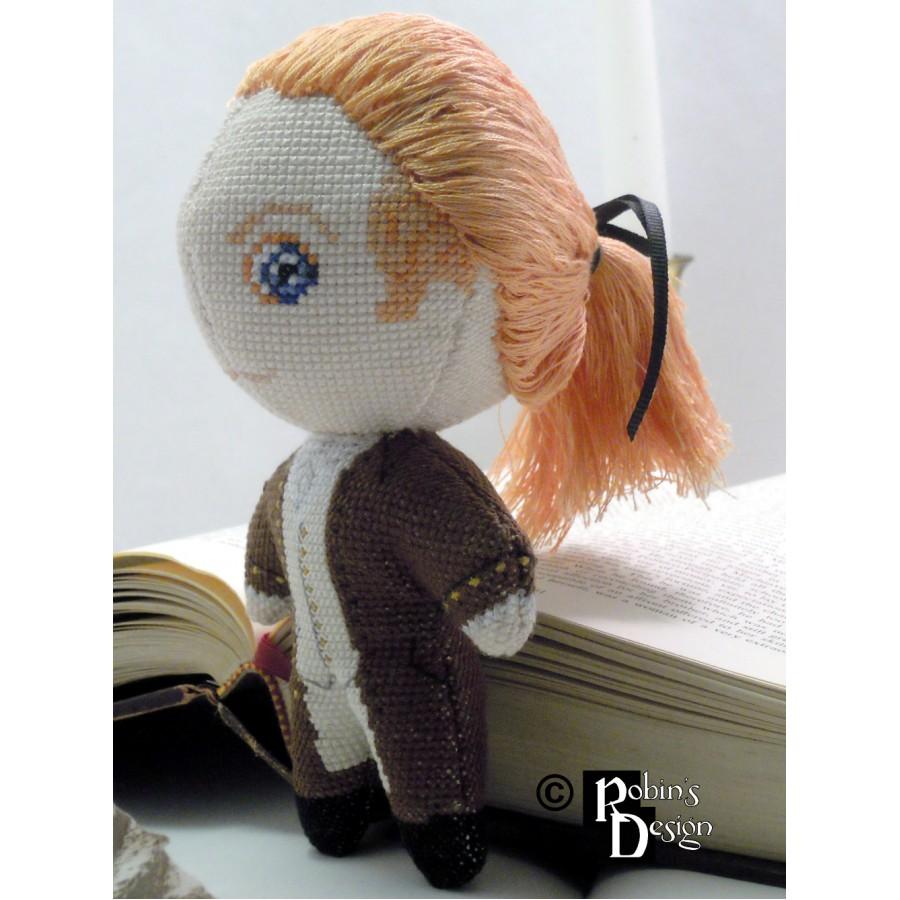 Alexander Hamilton Doll 3D Cross Stitch Sewing Pattern PDF Download