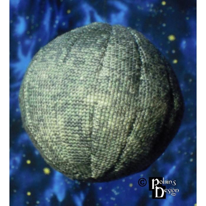 Mercury Globe 3D Cross Stitch Sewing Pattern PDF Download